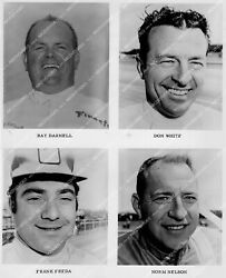 Crp-33911 Racecar Drivers Bay Darnell Don White Frank Freda Norm Nelson Crp-3