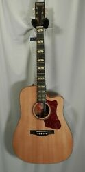 Norman St40 Cw Studio 6-string Rh Acoustic Electric Guitar W/tric Case Natural
