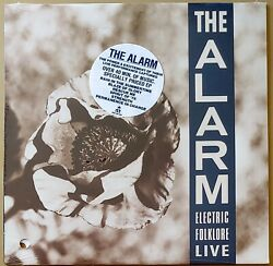 THE ALARM ‎– ELECTRIC FOLKLORE LIVE LP 33 RPM VINYL FACTORY SEALED