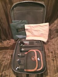 Wild Heerbrugg T2 Theodolite Accessory Case Diagonal Eyepieces Lamps Complete