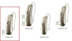 A Pair Of New Phonak Audeo P90-r Rechargeable Ric Hearing Aids And Free Charger