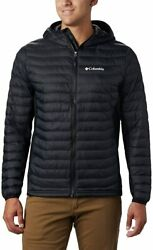 Columbia Menand039s Tall Powder Pass Hooded Jacket