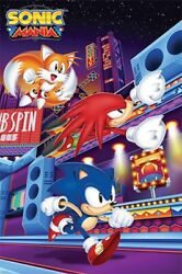 Sonic Mania - Video Game Poster - 24x36 - 54225