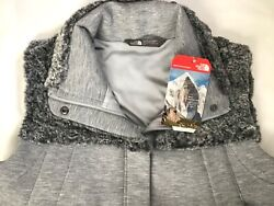 Nwt Womens Hybrination Thermal 3d Vest Faux Fur Trim Gray Size Small