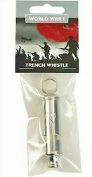 Wwi Reproduction Trench Whistle - World War One Superb Quality