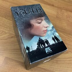 Testament Of Youth 4 Vhs Tape Collection Miniseries Aande Rare 1979
