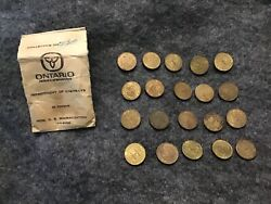 Ontario Department Of Highways Token Coin Class 1 Vehicle Province Lot Canada