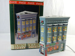 Coca-cola Candler's Drugs Town Square Collection Christmas Village Holiday Decor