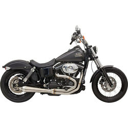 Bassani Road Rage Iii Exhaust Sys. 04-05 H-d Dyna Super Glide Sport Injec.fxdx I
