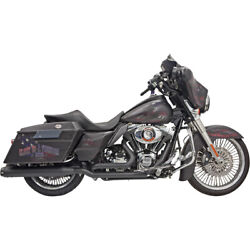Bassani Dual Down Under Blk Sys. For 11-13 H-d Road Glide Ultra-fltru