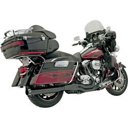 Bassani B4 2-into-1 Sys. Blk For 04-06 H-d Road King Cust. Injec.flhrs I