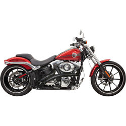 Bassani Radial Sweeper Blk For 05 H-d Dyna Super Glide Cust.fxdc