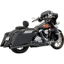 Bassani Road Rage Ii B1 Pwr 2-1 Sys. Blk For 06 H-d Street Glide-flhx