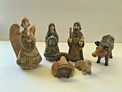 G.debrekht Holy Family From G. Debrekht Nativity Collection 2003