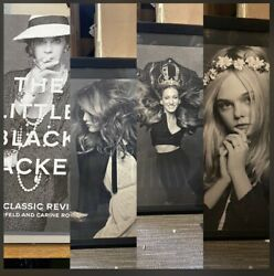 The Little Black Jacket 's Classic Revisited Book And 3 Frames Prints
