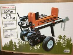 👀 Gasoline Engine Hydraulically Operated Heavy Duty Double Acting Log Splitter✔