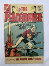 Peacemaker 1 Charlton Comics 1967 1st Print John Cena - The Suicide Squad And Hbo