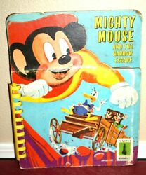 Mighty Mouse And The Narrow Escape 1964 Storyboard Book Vintage