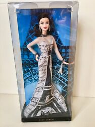 Barbie Doll Of The World Landmark Collection Eiffel Tower In Original Packaging