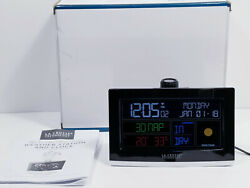 La Crosse Technology Wi Fi Projection Weather Station with Alarm Clock CA81199