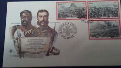 South African Used 1979 Centenary Of The Zulu War 1st Day Cover Sg.459-461