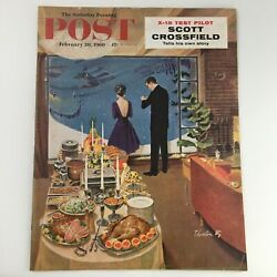 The Saturday Evening Post February 20 1960 Scott Crossfield Feature, Newsstand