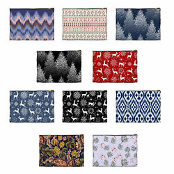 Girl#x27;s Cosmetic Bag Set of 3 Makeup Pouch for Cosmetic Toiletry Makeup Organizer $9.49