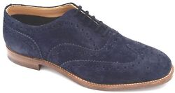 Church's Man Dress Shoes Business Derby Classic Fit G Suede Code Burwood 2