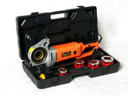 Handheld Electric Pipe Threading Power Tool Set With Dies Threading