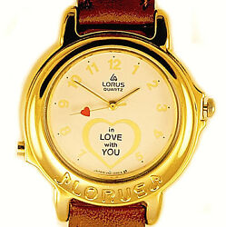 Musical Lorus Disney Beatles Song And039i Want To Hold Your Handand039 Unworn Watch 229
