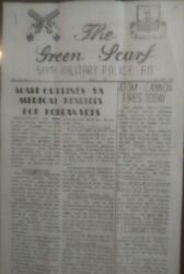 The Green Scarf, 519th Military Police Newsletter, 1953 Korea