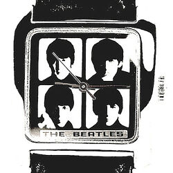 Beatles, Apple Collectible Fossil, Mans Never Worn Watch, Numbered Of 5,000 169