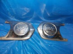 1952 Ford F7 Truck F-7 Deluxe 5-star Hood Trim Stainless Steel F700