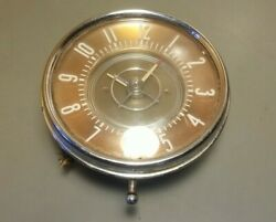 Vintage Jaeger Watch Co New York Car Clock For Parts