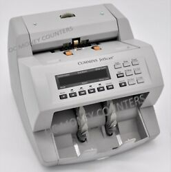 Cummins Jetscan Currency Counter Model 4065 Fully Reconditioned With Warranty