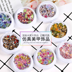 Nail Art Stickers DIY Decorations Tips Animal Plant Flower Bee Fruit Nail Decals