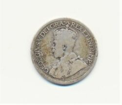 1919 Canadian Canada Dime 10 Cents Ten Cents Early Silver Coin