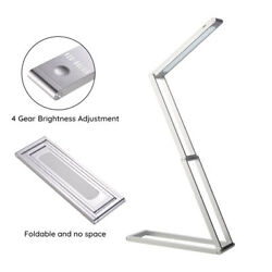 Foldable Desk Lamp Study Reading Table Night Light Usb Rechargeable Metal