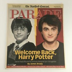 The Hartford Courant Parade Magazine May 23 2004 Daniel Radcliffe Cover No Label