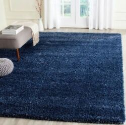 Denim Blue Shag Area Rug Rugs 4and039 X 6and039 8and039 10and039 9and039 12and039 10and039 13and039 8 10 4 6 5 8 7 11 15