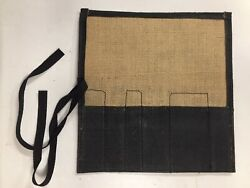Lotus Elan S1 Early 6 Pocket Tool Roll Made With Period-correct Materials
