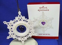 Hallmark Limited Edition Employee Gift Snow One Like You 2013 Snowflake Heart