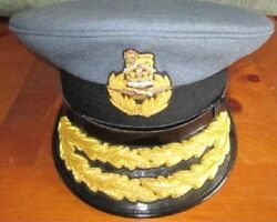 Uk Royal Air Force Air Commodore Hat Cap New Size 58 59 60 61 Cp Made