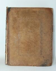 Antique Leather Bound 1788 Bible The Book Of Common Prayer Cambridge