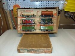 Very Rare Lionel Original Prewar Boxed 808 Freight Car Accessory Set