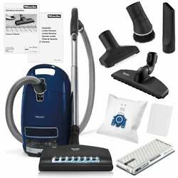 Canister Vacuum Miele Lightweight Handheld Complete C3 Marin W/ Tools And Filter