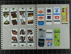 Weeda Matchbook Cover Collection In 22-ring Album Wide Variety Of Places/themes