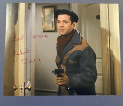Robert Clary Hand Signed 8x10 Photo Actor Autographed Hogans Heroes Tv Star Coa