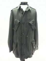 Vtg 1970s Canadian Military Mk2 Field Jacket Real Goods Green Menand039s Fits L