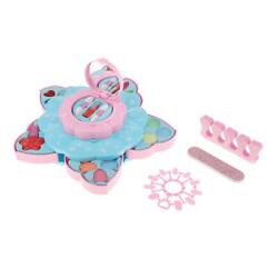 Easy to Clean Girls Real Make Up Set Box Cosmetic For Kids Girls Gift New $24.28